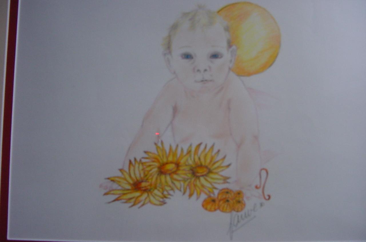 Baby Sterrenbeeld Schilderijen